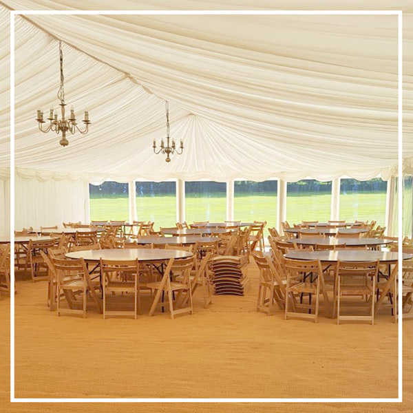 Furniture for wedding and event hire in Herts