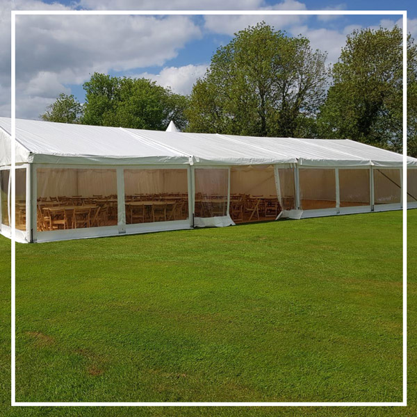 Event marquees for hire
