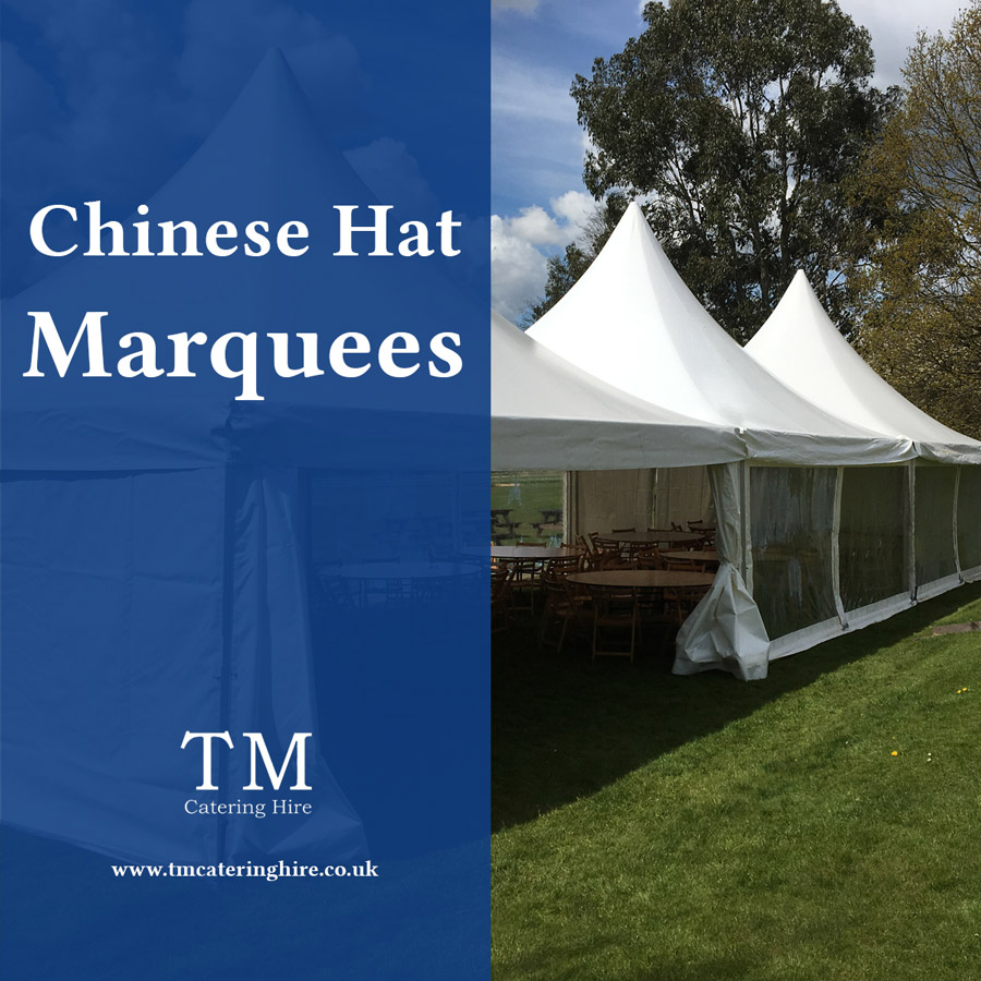 Chinese Hat Marquees for hire