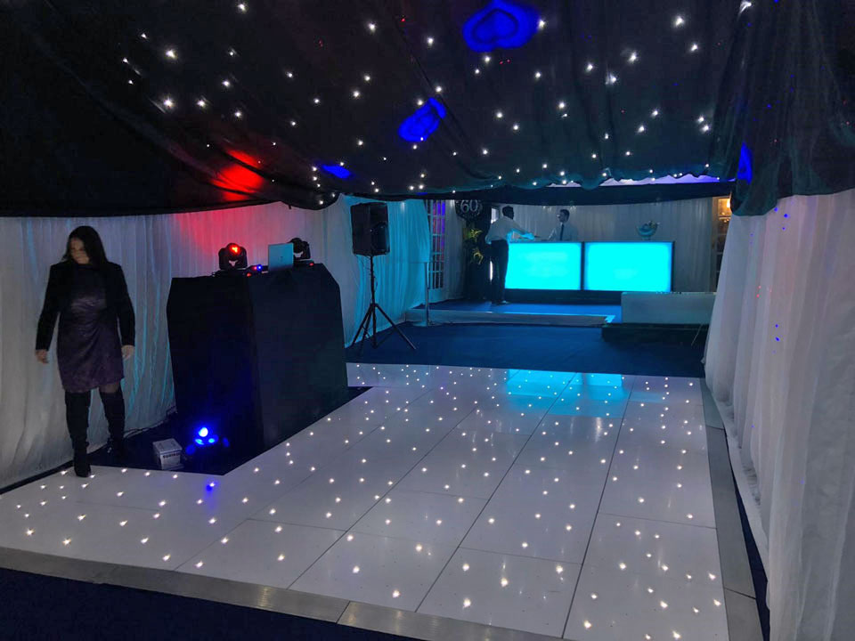 dance floor hire for party