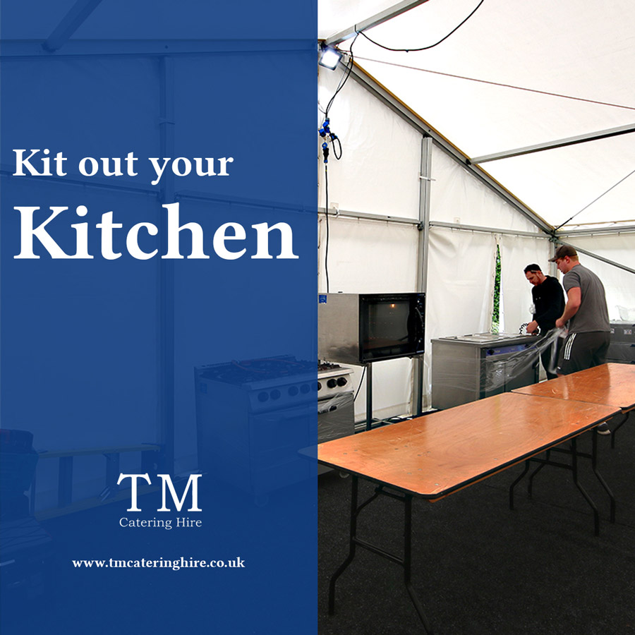 Kitchen Equipment Hire For Events