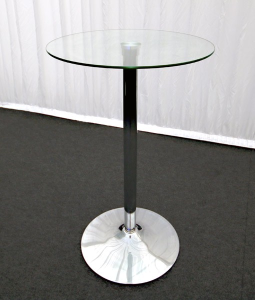 Glass Poser Table